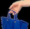 Складная сумка для покупок/Shopper bag (синий), фото 3
