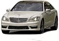 "Mercedes Benz w221 рестайлинг, комплект обвеса ""AMG"" на S-class (2005-2013)"
