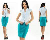 Костюм женский жакет + юбка, фото 1