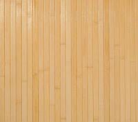 Бамбуковые обои светлые 17мм, ширина 250см.