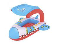 """Детский надувной плотик """"Самолет"""" 34100 Bestway"""
