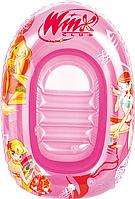"""Детский надувной плотик """"Winx"""" 92004 Bestway, с прозрачным окошком"""