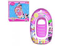 Детский надувной плотик Лодочка Mickey Mouse 91025 Bestway