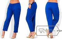 Женские летние брюки капри большого размера