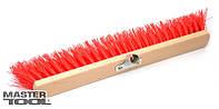 Метла уличная MAXI 350*40*300 мм ПЭ+ПВХ+ПП пластиковая без ручки Mastertool (14-6351)