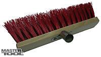 Щетка промышленная  550*70*95 мм ПЭ+ПВХ деревянная с мет. крепл. без ручки Mastertool (14-6357)