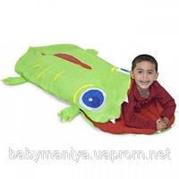 Спальный мешок для детей Крокодильчик Оги Melissa & Doug