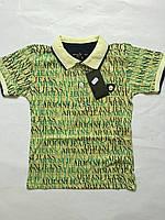 Футболка детская для мальчиков Армани 110-152