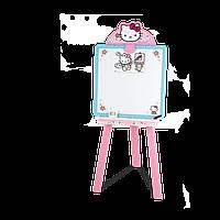 Мольберт с двухсторонней доской Hello Kitty Smoby 28033