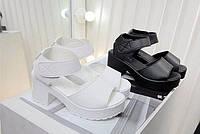 Женские босоножки высокого качества. Стильная обувь. Босоножки на платформе. Доступная цена. Код: КД157