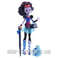 Кукла Monster High Jane Boolittle Basic Монстер Хай Джейн Булитл Базовая (с питомцем)