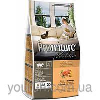 Сухой корм для кошек Pronature Holistic (Пронатюр Холистик) Duck & Orange 2.72кг
