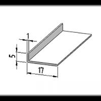 Пластиковый угол ПВХ 5х17 от производителя