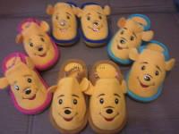 Детские  яркие тапочки Винни Пух!с резинкой