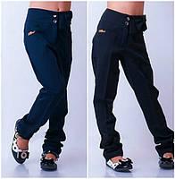 """Школьные брюки для девочки """"Бантик-модель 15"""" (р.30-40)"""