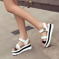 Популярные в этом году женские босоножки. Массивная платформа. Удобная обувь. Интернет магазин. Код: КД167