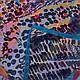 Женское разноцветное парео-платок 140 на 140 см MOSI (МОСИ) SAT25324, фото 2