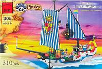 """Конструктор Brick 305 """"Пиратский корабль"""", 310 деталей"""