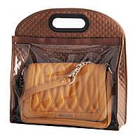Чехол для хранения сумки коричневый BE-02B Handy-Home