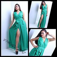 Платье длинное шифон разные цвета