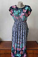 Платье женское с цветочным узором - 2
