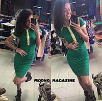 Модное гипюровое платье (много расцветок)