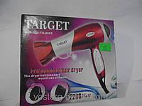 Уход за волосами, создание прически, сушка волос, мощный фен Target TG-8805, фен для волос