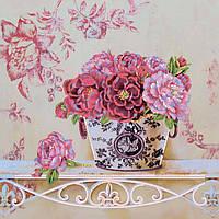 Частичная вышивка бисером Идейка Утро на даче (ВБ1065) 30 x 30 см