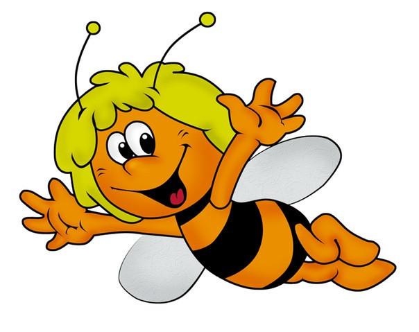 цветные картинки пчелки майи