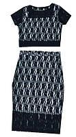 Костюм женский топ + юбка, фото 1