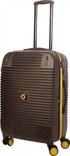 Удобный чемодан Vip Collection Bagamas 24 Brown на 4-х колесах 73 л BGS.24.brown, темно-коричневый