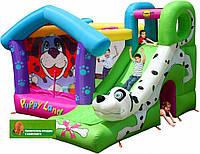 """Детский надувной игровой центр """"Далматинец"""" горка, батут, баскетбольное кольцо, туннель, взбирание по стене"""