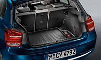 Коврик багажного отделения для BMW 1 (F20, F21) (серая окантовка)