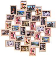 Деревянная мультирамка Облако яркий беж на 32 фото