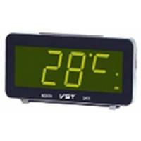 Настольные часы VST-763-2 с зеленой подсветкой (питание от сети) (75 033)