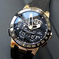 Механические часы Ulysse Nardin GMT ± Perpetual El Toro Gold Black U5898