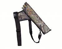 Аксессуар для стрельбы из лука – колчан для стрел с трубками, кордура, камуфляжная расцветка