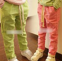 Детский хлопковые брюки