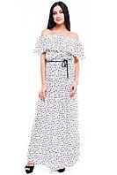 Платье белое Кама