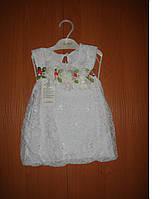 Нарядное детское платье 1-2-3 лет