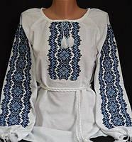 Вышиванка женская на домотканом.Размеры от 42-54 р