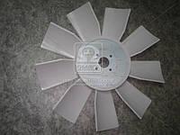 Крыльчатка вентилятора (238Н-1308012) ЯМЗ 238Н,238,236 (универсальн.) (пласт.9-лопаст.) (пр-во Украина)