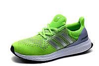 Кроссовки Adidas Ultra Boost, унисекс, салатовые, р. 37 38 39 40 41, фото 1