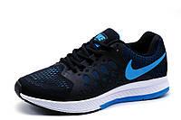 Кроссовки Nike Zoom Pegasus, мужские, черные, р. 40 41 42