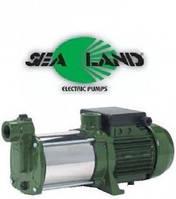 Насос поверхностный центробежный самовсасывающий с двумя рабочими колесами JB 200 M (1) 230 V 1,47кВт Sea-Land