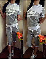 Спортивный женский костюм Nike -бриджи
