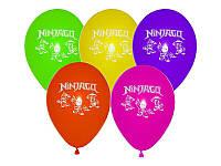 "Воздушный шар ""Лего НинзяГо"" 30 см диаметр"
