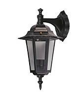 Светильник DELUX PALACE A02 60W E27, черный, садово-парковый