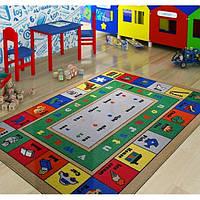 Ковер в детскую комнату Confetti Lesson (голубой) 133х190
