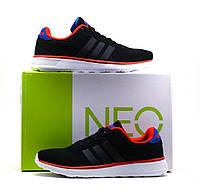 Кроссовки Adidas Lite Racer Engineered, мужские, черные, р. 40 41 42 43, фото 1